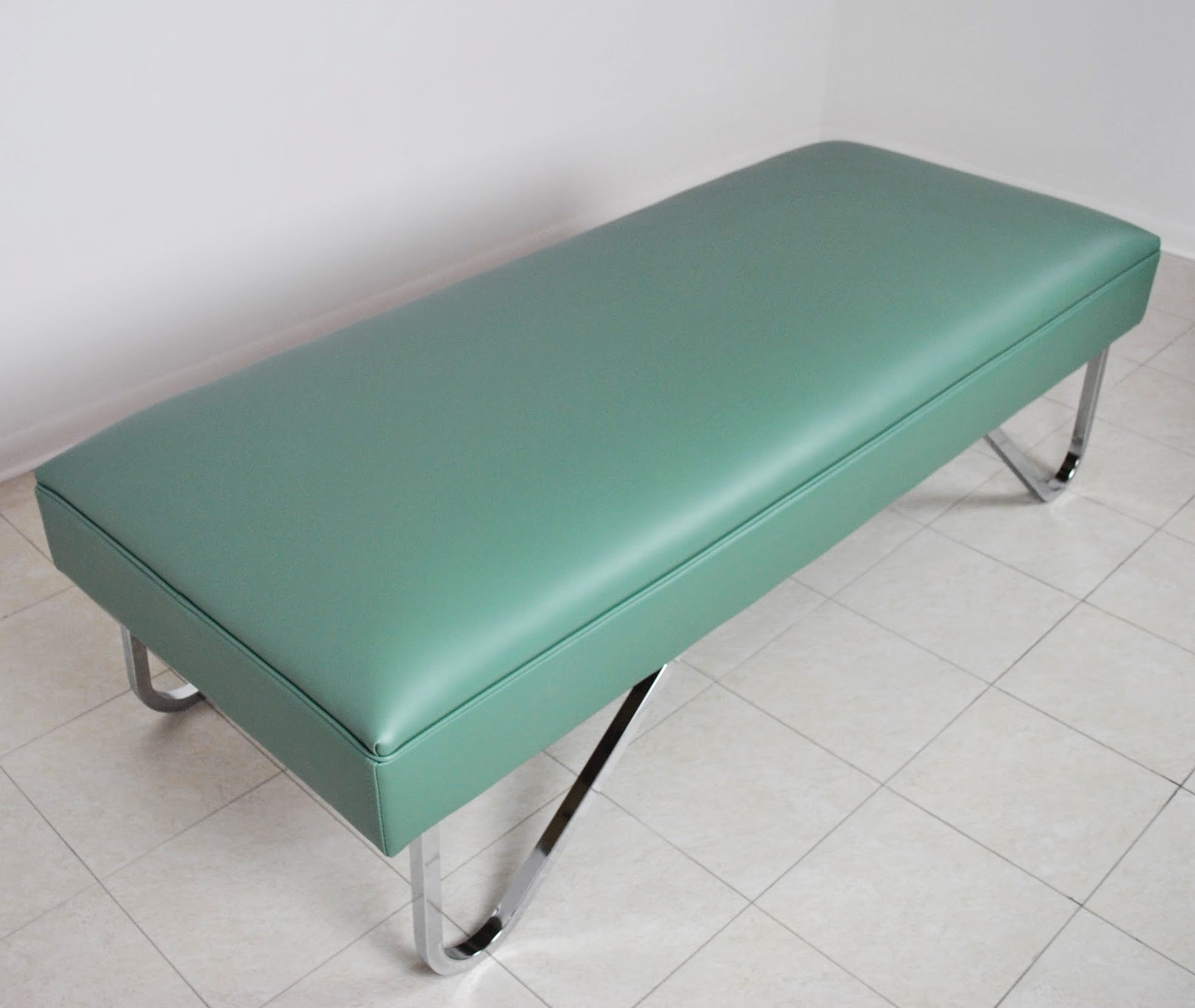 recovery with chrome couch width cl clinton legs inch