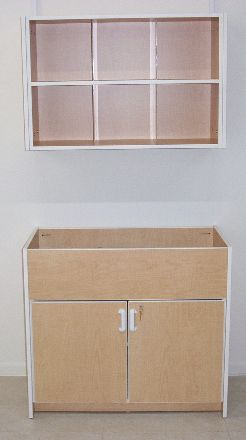 Elegant Model 4011 U2013 Baby Changing Cabinet