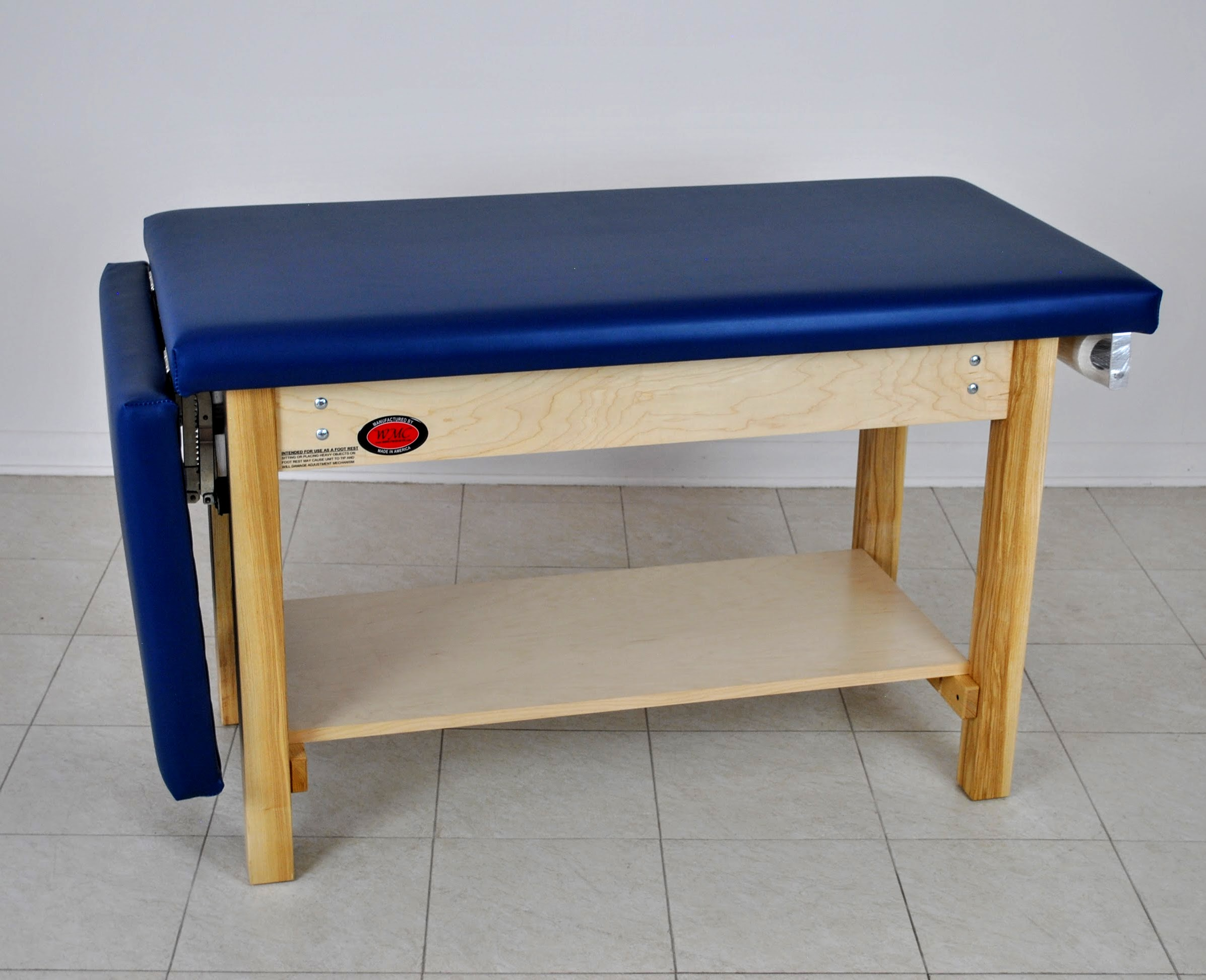Model 7200 Space Saver Exam Table With Footrest Wmc