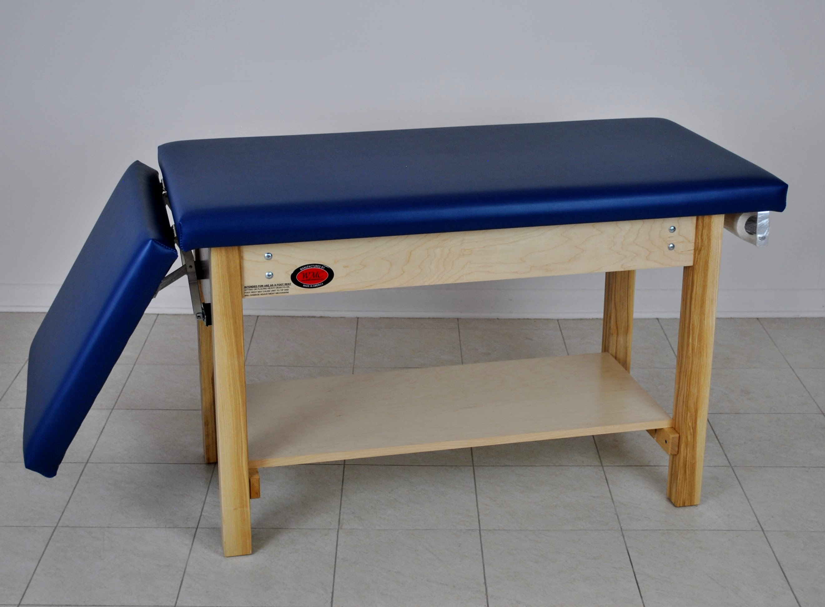Pleasant Model 7200 Space Saver Exam Table With Footrest Wmc Inc Short Links Chair Design For Home Short Linksinfo